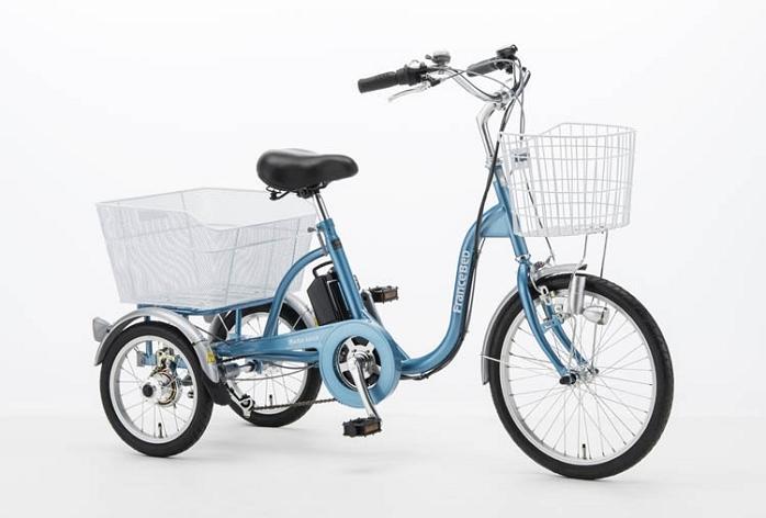 ★限定特価!フランスベッド 電動アシスト三輪自転車 ASU-3W01-KO