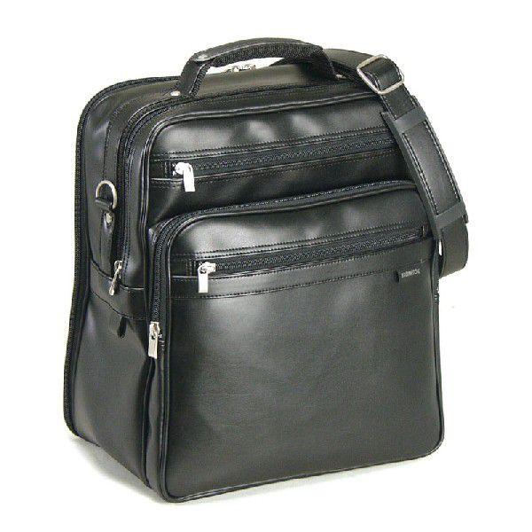 合皮/ショルダーバッグ/メンズ/ビジネスバッグ/豊岡製 立型36cm 16275