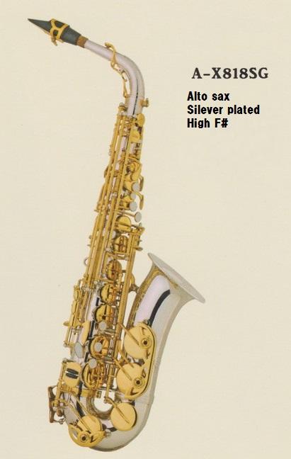 ♪日本初上陸Axis!【新品】アルト・サックスA-X818SG