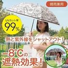 【-Fortuna-晴雨兼用折りたたみ遮熱日傘 (ブラック)】UVカット率99%!!強い日差しもしっかりガード