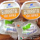 【7月7日出荷開始】【送料無料】Garofalo社 イタリア産 水牛のモッツアレラチーズ&ブラータ125g×各2個セット 航空便のスケジュールに合わせて出荷日を調整します[日時指定不可][賞味期限:約1週間程度]