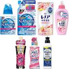 洗浄力も香りも贅沢取り!液体洗剤・柔軟剤7点セット(201705)