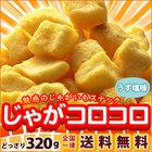【数量限定】 送料無料 じゃがコロコロ うす塩味 320g