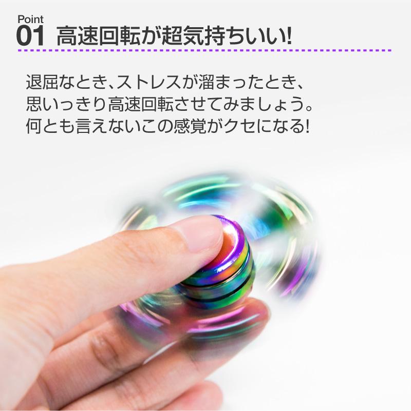 【メール便送料無料】ハンドスピナー Hand spinner 指スピナー スピン 三角 人気の指遊び 指のこま