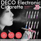 【リキッド付】DECO電子タバコ リキッド詰め替えタイプ (CE4ダイヤモンド)【メール便送料無料】■ラインストーンデコレーションがオシャレな電子たばこ USB充電式 禁煙グッズ 節煙グッズ 電子煙草