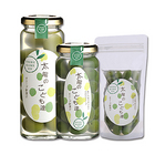 「太陽のこども達」自家栽培手摘み・国産オリーブ新漬け/瓶(大粒実)50g