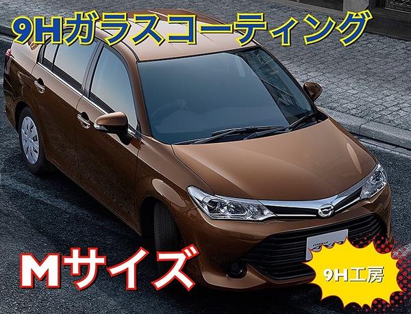 ガラスコーティング 自動車  Mサイズ(カローラ、bB、インテグラなど)