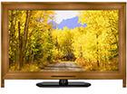 液晶テレビ用木製カバー40型