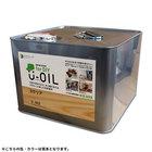 国産●自然塗料U-OIL(ユーオイル)for DIY クリアタイプ【内容量:9L】