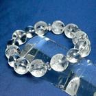 【送料無料】【超貴重なブレス】水晶AAAAA 10ミリ玉 龍と九匹の子供の最強開運ブレス