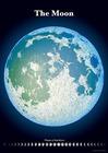 精密夜光月面図ポスター(夜光)