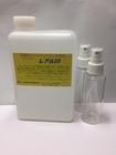 [送料無料]消臭・抗菌 特殊なチタンイオン溶液「レアルUS」詰替え用 プッシュ式噴霧容器付