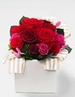 プリンセスローズの香りのプリザーブドフラワー レッド【フレグランス プリザーブドフラワー】通常納期 約1か月