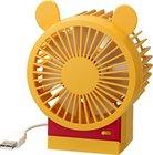 【送料無料】リズム時計 USB卓上扇風機 fan パワフル・静音・省エネを実現したコンパクトなUSB接続ファン プーさん ディズニー Disney 角度調整付 CITIZEN