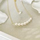 Teodora(テオドーラ) * きちんと並んだ琉球真珠のラインネックレス
