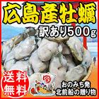 送料無料 カキ 鍋セット 広島県産 冷凍牡蠣(かき) 訳あり 500g×1袋 広島産 牡蠣/かき/カキフライ