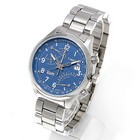 TIMEX タイメックス 腕時計 TW2P60600 INTELLIGENT QUARTZ FLY-BACK CHRONOGRAPH/ インテリジェントクォーツ フライバック クロノグラフ ミリタリーウォッチ メンズ レディース 時計 メタル ブルー インディグロナイトライト搭載