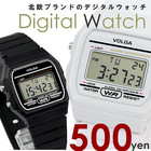 激安500円!デジタルウォッチ 時計 メンズ レディース カレンダー 腕時計
