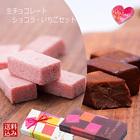 2種類の生チョコを一緒にお届け!5ピース×2種類 和菓子屋さんのしっとりチョコレート メール便配送 送料込み バレンタインデーギフト