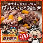 雑穀 雑穀米 ばぁちゃん家の雑穀米 お試し 100g 送料無料 国内産