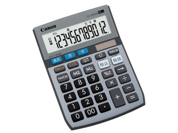 【納期約1~2週間】LS-122TUG SOB [CANON キヤノン] 電卓 LS122TUGSOB