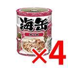 【納期約1~2週間】海缶 ミニ 3P かつお ×4セット (4571104712930)