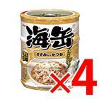 【納期約1~2週間】アイシア 海缶ミニ3P ささみ入りかつお(60g×3缶) ×4セット (4571104712954)