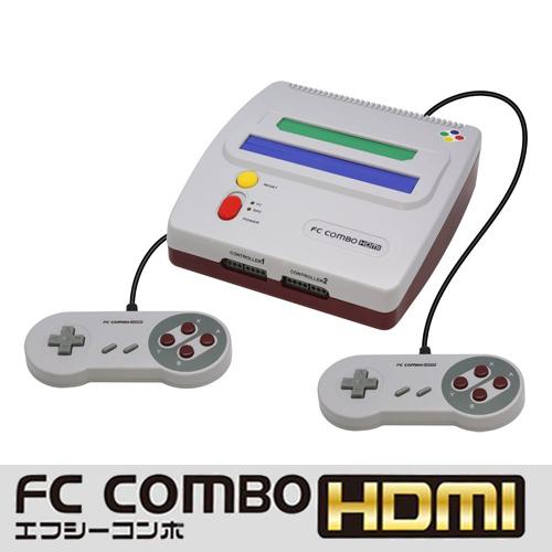 コロンバスサークル ファミコン/スーパーファミコン スーファミ (FC/SFC)互換機 エフシーコンボHDMI(FC COMBO HDMI)CC-SFCHD-GR