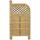 袖垣 竹垣 幅85cm 天然竹使用 玉袖垣