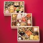 お節のお届けは12月30日(月): 京都祇園山玄茶 監修 和風おせち三段