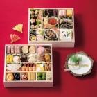 お節のお届けは12月30日(月): 金沢割烹 いけ森 「五彩」二段重