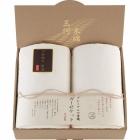 三河木綿 プレミアム六重織ガーゼケット2枚セット M3054