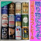送料無料 人気定番商品 クラフトビール 12種12本 地ビール 人気地ビール オススメ