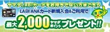 LAbiカード入会P8000