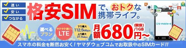 格安SIMで おトク!