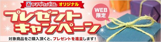 WEB限定 プレゼントキャンペーン