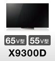 「X9300D」65V型/55V型