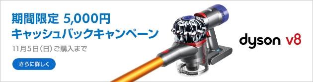 Dyson V8 キャンペーン