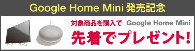 Google Home Mini 発売記念