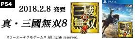 【ゲーム】PS4真三國無双8