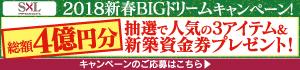 新春キャンペーン:SxL