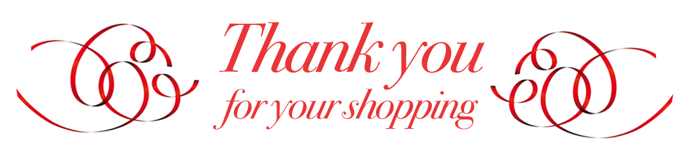 Thank you for your shopping