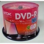 TDK DVD-R 50枚組 DR47PWC50PUC