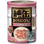 アイシア 純缶ミニサーモン入りまぐろ70g×3P