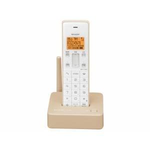 SHARP デジタルコードレス電話機 JD-S06CL-C ベージュ系 JD-S06CL-CC