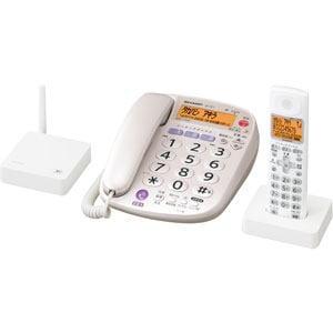SHARP 電話機 JD-VF1CL-W