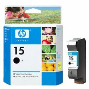 ヒューレットパッカード HP15ブラックインク C6615DA003(HP15)