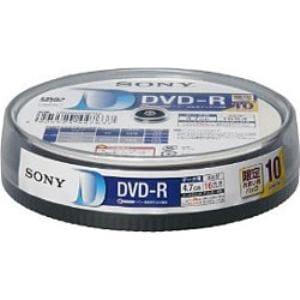 ソニー ソニー 16倍速対応  データ用DVD-Rメディア(4.7GB・10枚) 10DMR47HPHG