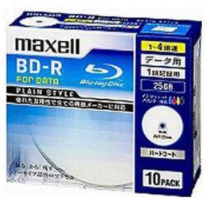マクセル データ用BD-R BR25PPLWPB10S