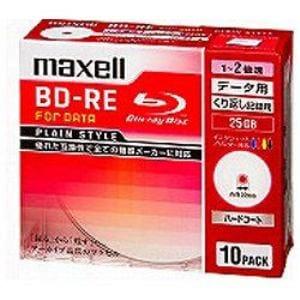 マクセル データ用BD-RE BE25PPLWPA10S